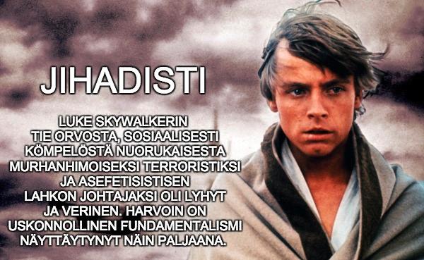 Luke, jihadisti