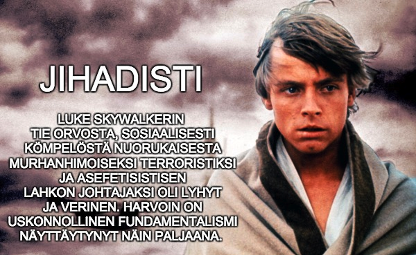 Luke Skywalker, jihadisti