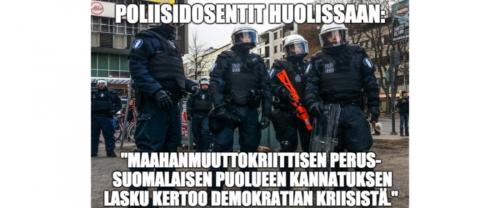 Poliisiammattikorkeakoulun avaus: Anarkistit ja demokratia