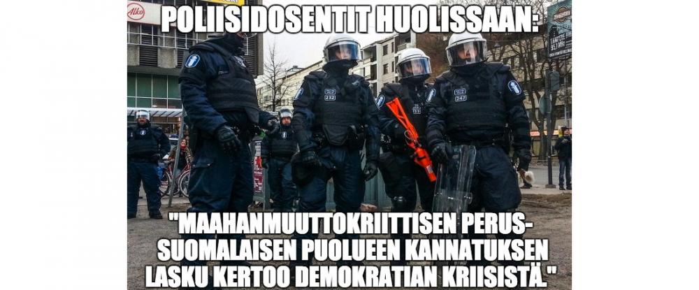 Poliisidosentit huolissaan -meemi2