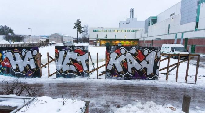 Laitataklauksia Vantaalla