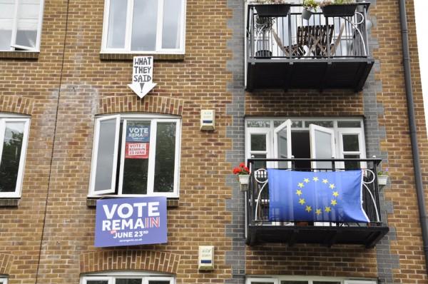 Britannia jakautui kahteen leiriin ennen EU-äänestystä.