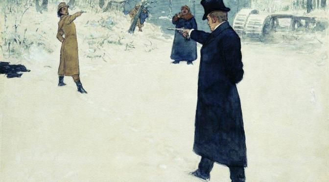 Onegin by Repin