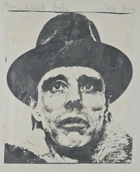 Joseph Beuys: Transsibirische Bahn, 1961/1971 Parafiini, paperi