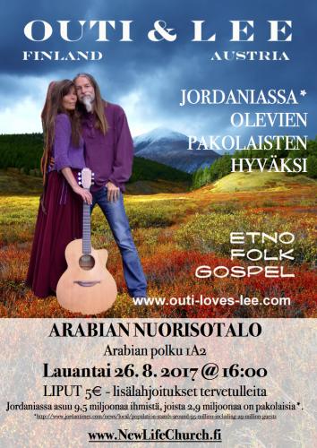 Concert Arabia 26 8 2017 Poster Finnish