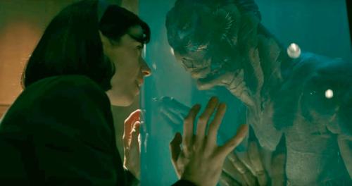 Akvariorakkautta Guillermo del Toron tapaan