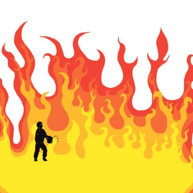 Tuhopolttoja ja lavastuksia Venäjällä