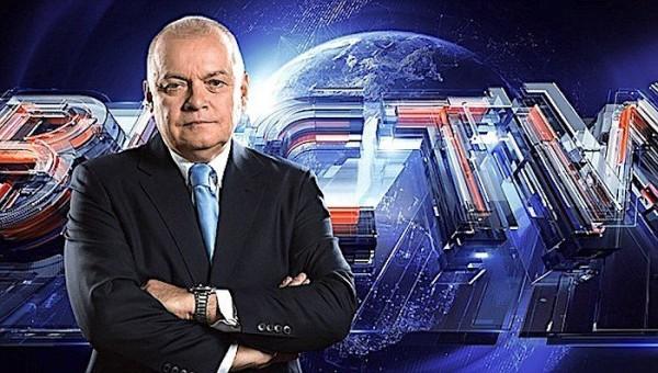 Dmitry Kiseljov ja illan pääuutiset, Vesti.