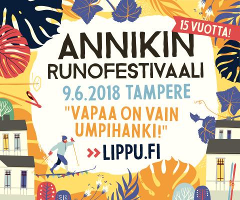 Annikin runofestivaalit 2018