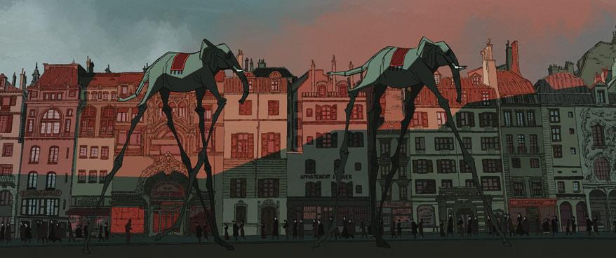 Surrealismin paluu. Salvador Simón Bunuel-elokuvaan mahtuu myös Dali-vaikutteisia jaksoja.