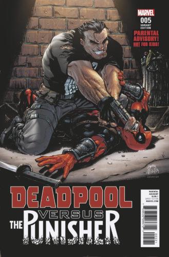 Deadpool versus the Punisher – Sensuuri iski liian rankkaan ilmaisuun