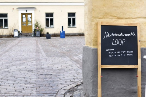 Hävikki- ja kiertotalousfestarit järjestetään tänä vuonna entisen Lapinlahden sairaalan alueella, jossa sijaitsee myös Hävikkiruokaravintola Loop.