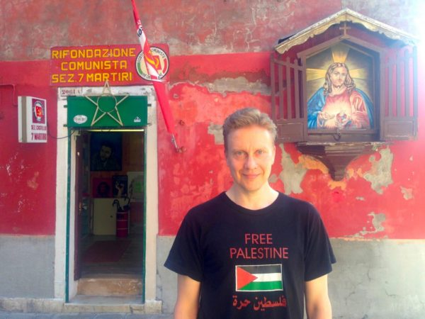 Teemu Venetsiassa, kommarin ja Neitsyt Marian välissä, IMG_4895