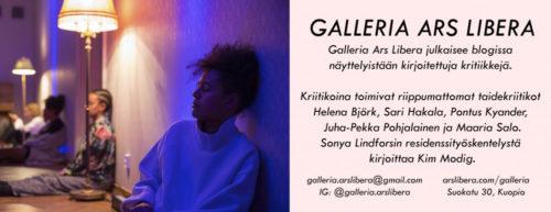Sonya Lindfors: Soft Landings, Galleria Ars Libera