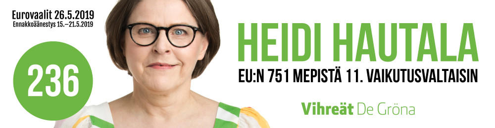Heidi Hautala eurovaalit