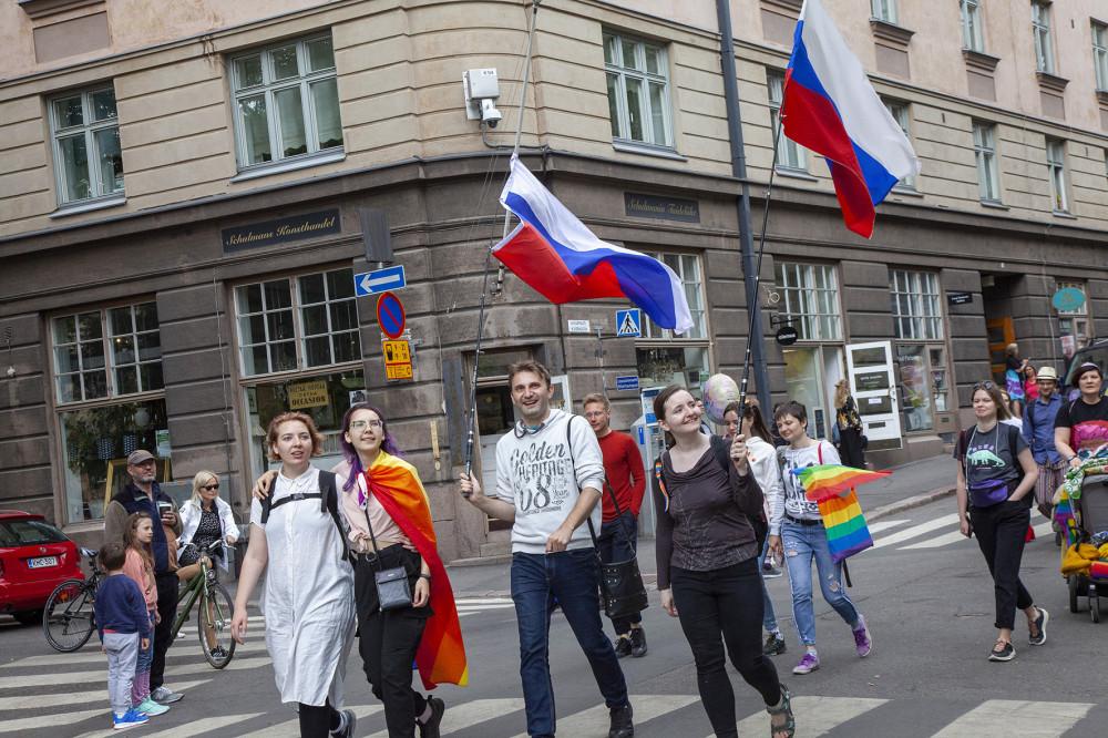 Venäjän liput.