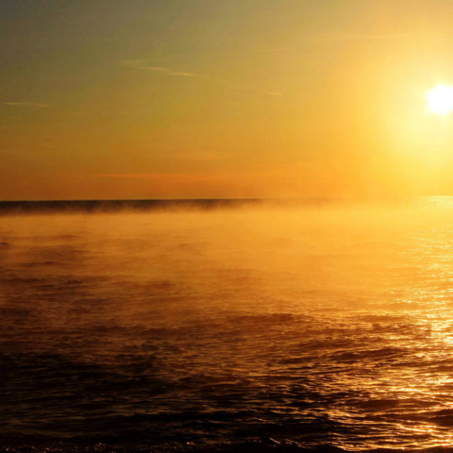 Lämpenevä meri kiihdyttää ilmastokriisiä