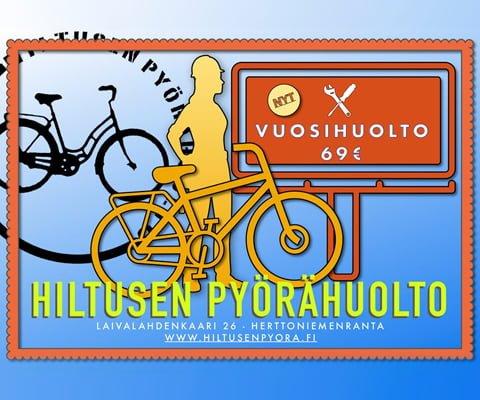 Hiltusen pyörähuolto 2019