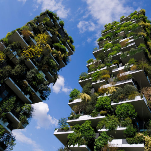 Kaksi hehtaaria metsää pystysuunnassa - Milanon metsätalo täytti viisi vuotta