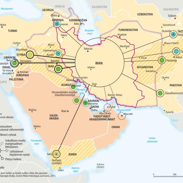 Vuosisatojen konflikti Muhammedin perinnöstä