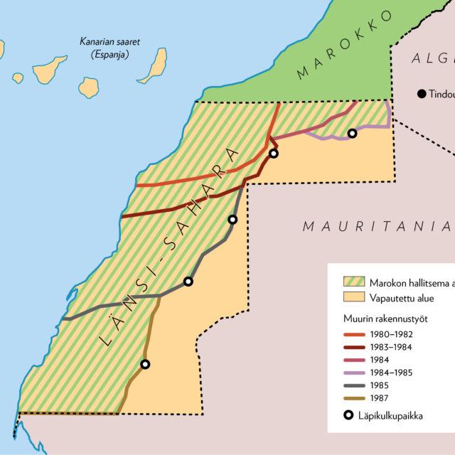 EU rikkoo kansainvälistä oikeutta troolatessaan miehitetyn Länsi-Saharan aluevesillä
