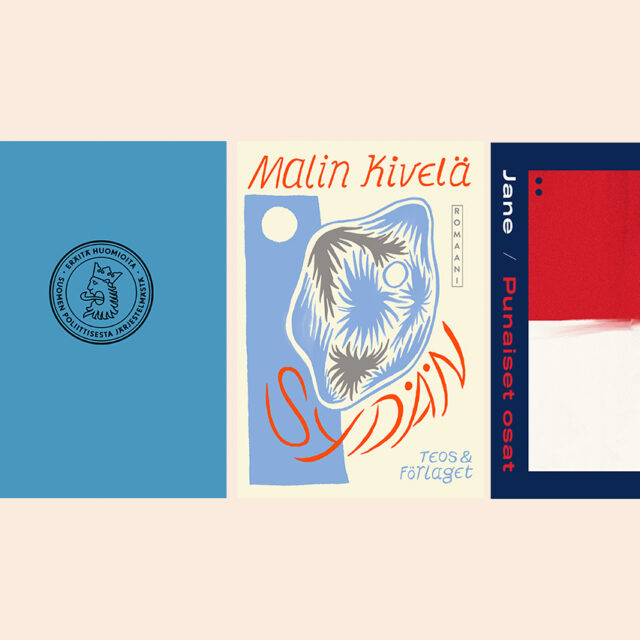 Kirjan kansi on parhaimmillaan kokonaisuuden yhteen sitova taideteos – Ville Hänninen valitsi suosikkejaan kotimaisista kansista