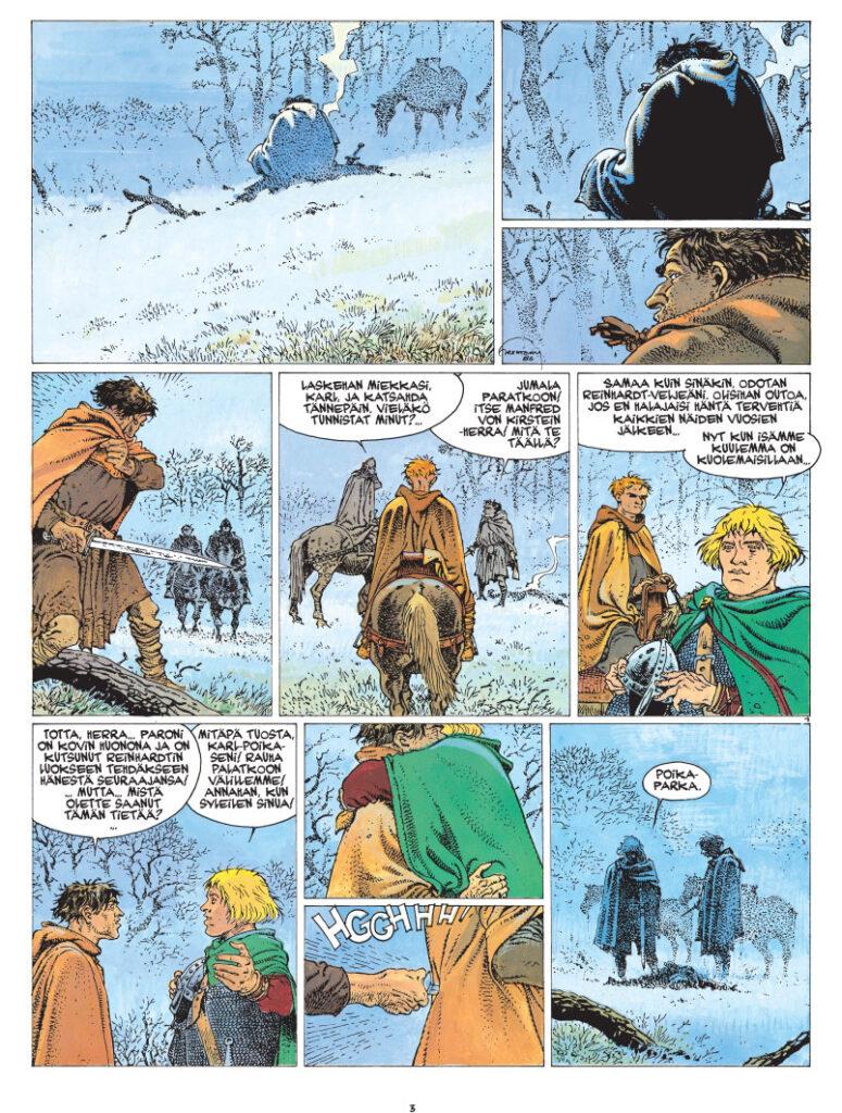 Bois-Mauryn tornit 4, sivu 1
