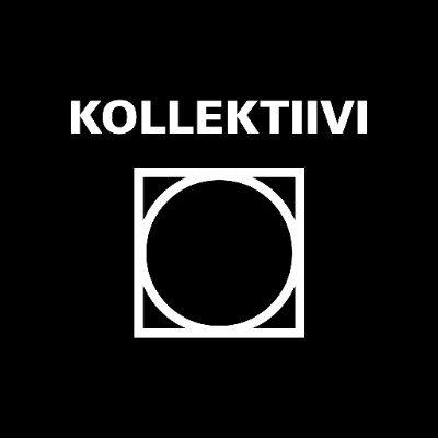 Kollektiivin logo, jossa neliön sisäläl ympyrä.