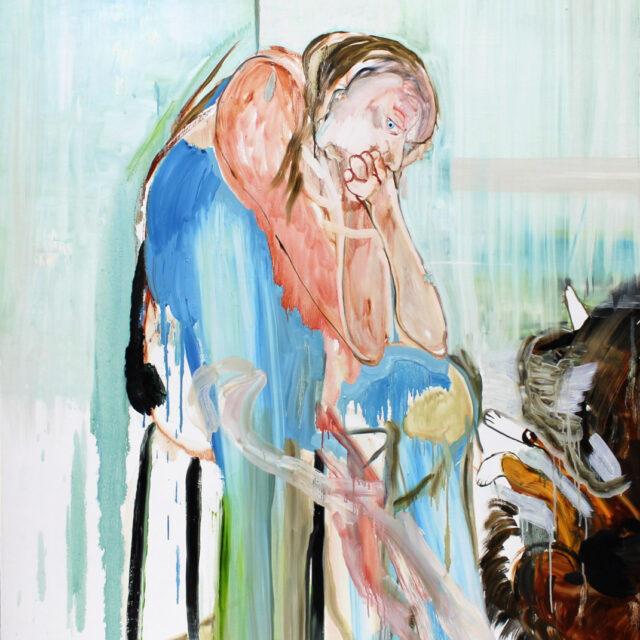 Susanna Vuorio OLIPA KERRAN ELÄMÄ / ONCE UPON A TIME THERE WAS A LIFE maalauksia