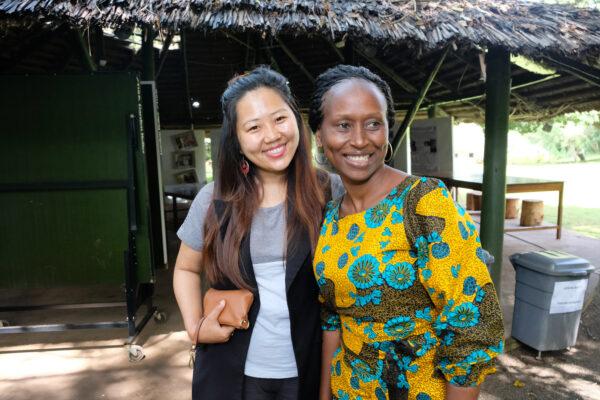 Bhrikuti Rai, Nepal ja Sylvia Daulinge Tansania